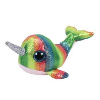 Ty Beanie Boos Medium - Nori the Narwhal