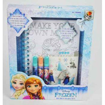 Disney Frozen Lockable Secret Diary ( ONLY SOLD in Display of 6 )