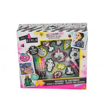 ONLY 4 Girls Patch Kit
