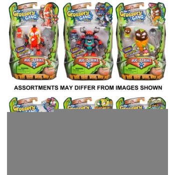The Grossery Gang Series 4 W2 Action Figures Assorted