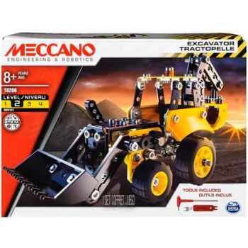 Meccano Construction - Excavator