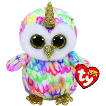 Ty Beanie Boos Regular - Enchanted Owl with Horn