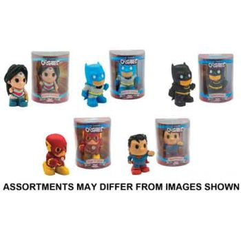 Ooshies DC 4inch Figures in Box assorted