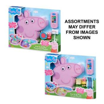 Peppa Pig Pick-Up & Play Playset assorted