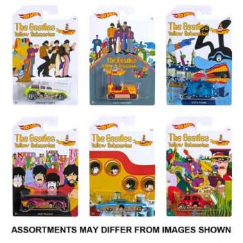 Hot Wheels Beetles Yellow Submarine assorted ( ONLY SOLD in carton of 36 )