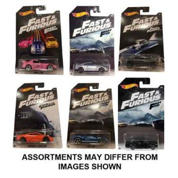 Hot Wheels Fast & Furious assorted ( ONLY SOLD in carton of 36 )