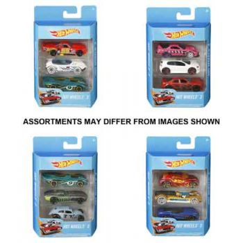Hot Wheels Basic Car 3 Pack assorted