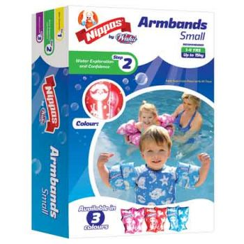 Nippas Arm Bands Small assorted up to 15kg