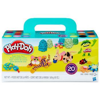 Play Doh Super Colour Pack (20pk)