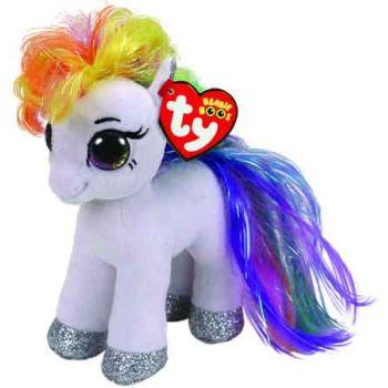 Ty Beanie Boos Regular - Starr White Pony