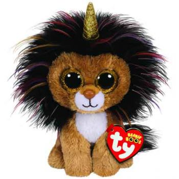 Ty Beanie Boos Regular - Ramsey Lion with Horn