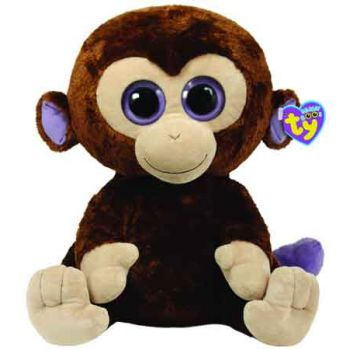 Ty Beanie Boos Large - Coconut Brown Monkey