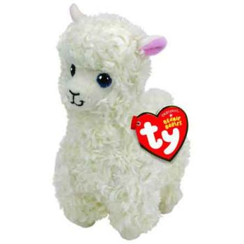 Ty Beanie Boos Regular - Lily Cream Llama