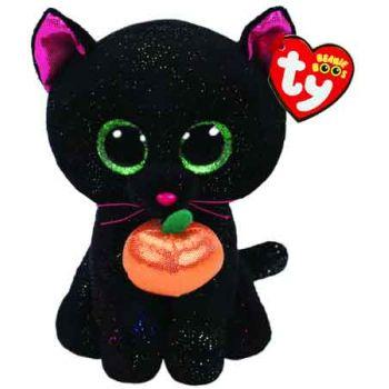 Ty Beanie Boos Regular - HALLOWEEN Potion Cat with Pumpkin