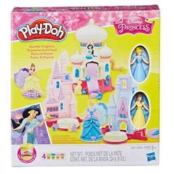 Play Doh Disney Princess Sparkle Kingdom ( was RRP $39.99 )