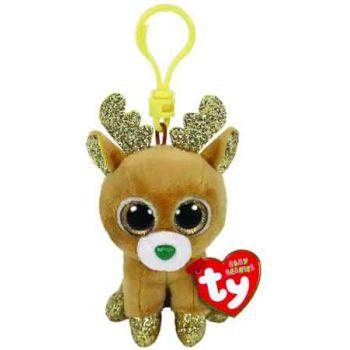 Ty Beanie Boos Clips - Glitzy Reindeer