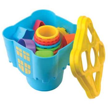 Little Learner Castle Stacking Cups & Shape Sorter