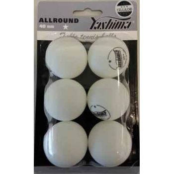 Table Tennis Balls 6pk