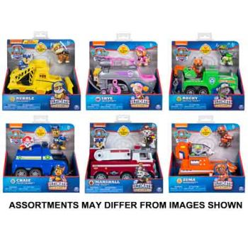 Paw Patrol Ultimate Rescue Themed Vehicles with Pup assorted