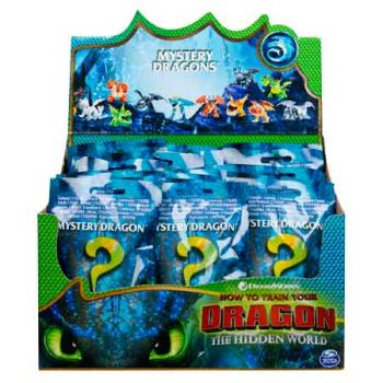 Dragons 3 Mystery Dragons assorted ( ONLY SOLD in Display of 48 )