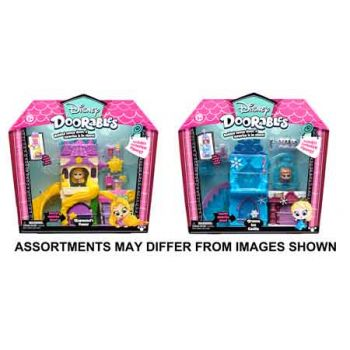 Disney Doorables Series 1 Themed Playset assorted