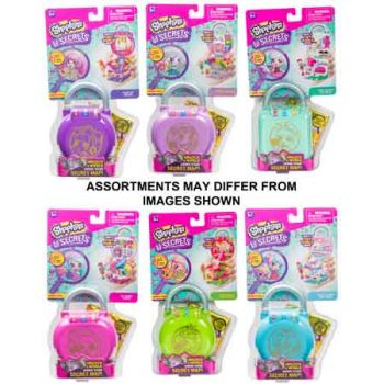 Shopkins Little Secrets Series 1 Wave 2 Mini Playset assorted