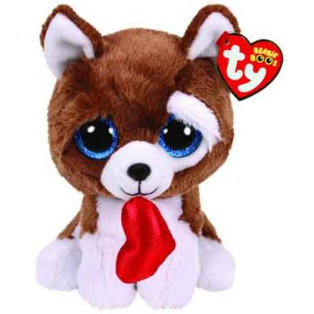 Ty Beanie Boos Regular VALENTINES - Smootches Dog