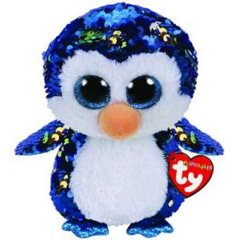 Ty Sequin Flippables Medium - Payton Penguin
