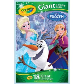 Crayola Giant Colouring Pages - Disney Frozen