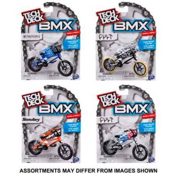 Tech Deck BMX Singles assorted ONLY SOLD in Carton of 4 )