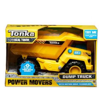 Tonka Power Movers - Dump Truck ( ONLY SOLD in Carton of 2 )