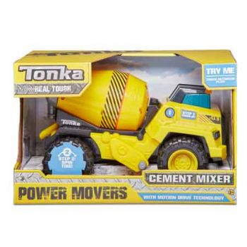 Tonka Power Movers - Cement Mixer ( ONLY SOLD in Carton of 2 )