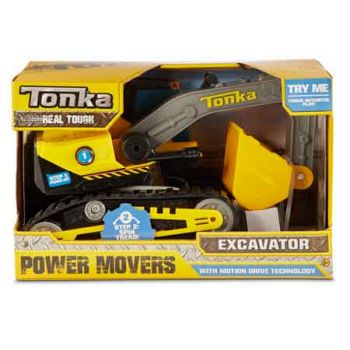 Tonka Power Movers - Excavator ( ONLY SOLD in Carton of 2 )