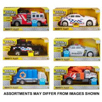 Tonka Mighty Fleet assorted ( ONLY SOLD in Carton of 4 )