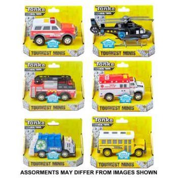 Tonka Toughest Minis assorted ( ONLY SOLD in Carton of 4 )