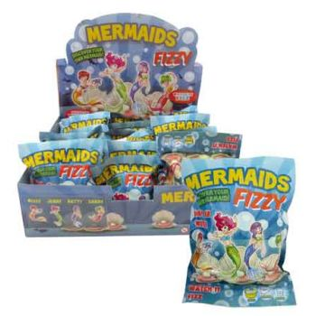 Fizzy Mermaid Egg assorted ( ONLY SOLD in Display of 24 )