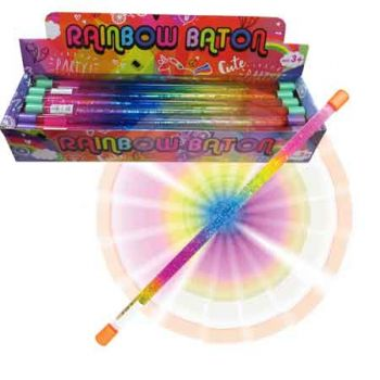Rainbow Baton 45cm ( ONLY SOLD in Display of 24 )