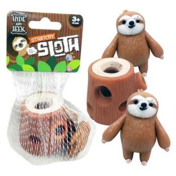 Squeeze Sloth ( ONLY SOLD in Display of 12 )