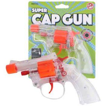 Super Clear Cap Gun 8 Shot