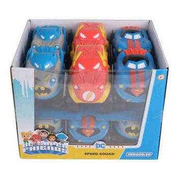 """Hero Drive DC Superfriends 4"""" Speed Squad assorted ( ONLY SOLD in Display of 12 )"""