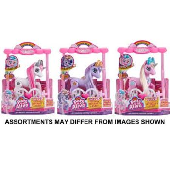 Pets Alive My Magical Unicorn & Stable assorted