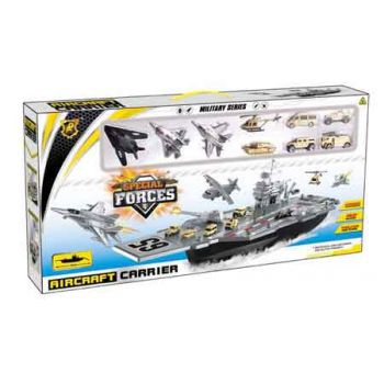 Deluxe Aircraft Carrier with Vehicles