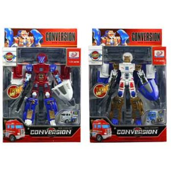 Transformable Figures with Lights & Sounds assorted