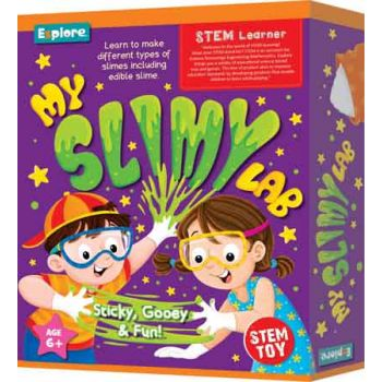 Explore STEM Medium - My Slimy Lab
