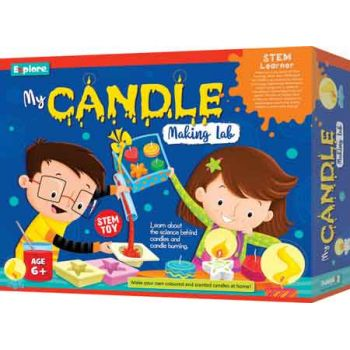 Explore STEM Deluxe Kit - My Candle Making Lab