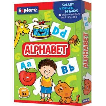 Explore Self Correcting Puzzle Small - Alphabet