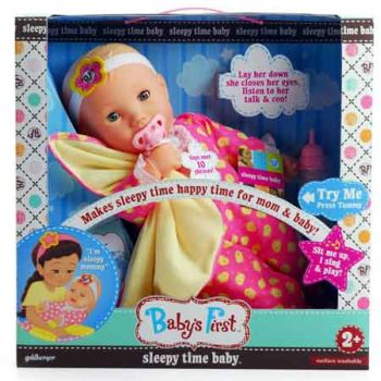 Baby's First Sleepy Time Baby Doll