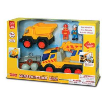 Little Learner Construction Site Playset