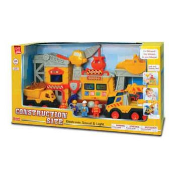 Little Learner Construction Site Deluxe Playset ( was RRP $99.99 )