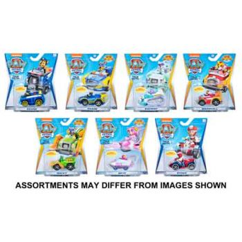Paw Patrol True Metal Diecast Vehicles assorted